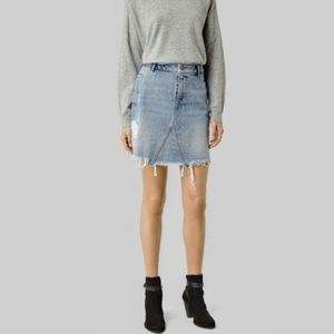 All Saints | Lari denim skirt